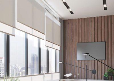 Raumausstattung Raetz - Wood & Washi Fensterdekoration